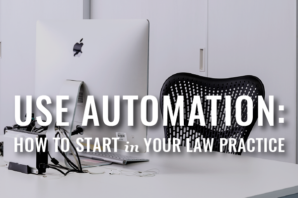 automation in law practice